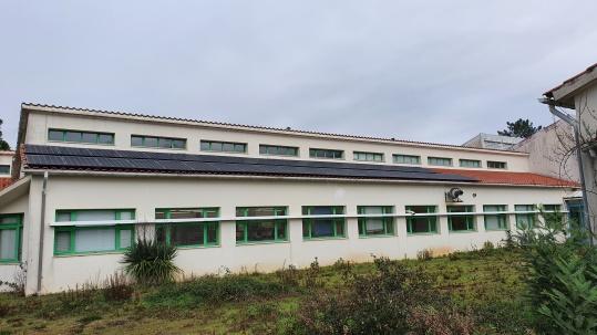 Entrada em funcionamento da instalação fotovoltaica no CBE